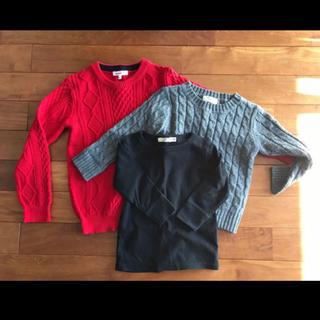 MARKEY'S - 子供 キッズセーターとカットソー 3枚セット 100サイズ〜