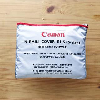 Canon - Canon レインカバー N-RAIN COVER E1-S(S-size)