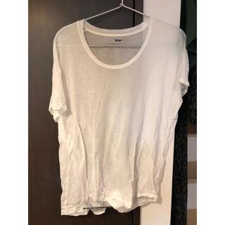 アクネ(ACNE)のアクネTシャツ(Tシャツ(半袖/袖なし))
