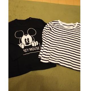 UNIQLO - ユニクロ 長袖 Tシャツ 2枚セット 100