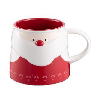 スターバックスコーヒー(Starbucks Coffee)のスターバックス[サンタクロース(2)マグカップ]クリスマス限定 台湾 海外(グラス/カップ)