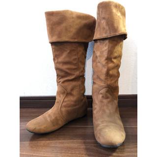 エスペランサ(ESPERANZA)のエスペランサ  ブーツ キャメル モカ  ぺったんこブーツ(ブーツ)