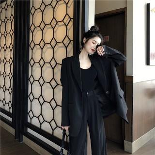 ZARA - セットアップ 韓国ファッション カジュアル 秋冬 気品 パンツ+ジャケット