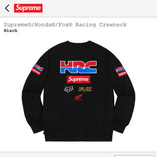 シュプリーム(Supreme)のSupreme®︎/Honda®︎/Fox®︎ Racing Crewneck(スウェット)