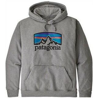 パタゴニア(patagonia)のPatagonia パタゴニア パーカー フードスウェット  グレー(パーカー)