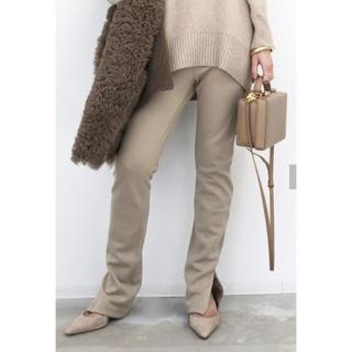 アパルトモンドゥーズィエムクラス(L'Appartement DEUXIEME CLASSE)の【新品】L'Appartement Wool Zip Leggings(レギンス/スパッツ)