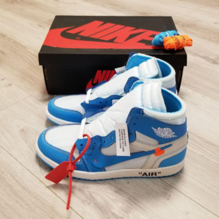 希少サイズ【28cm】AIR JORDAN 1 OFF-WHITE UNC(スニーカー)