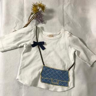 プティマイン(petit main)のプティマイン petit main トップス 80(Tシャツ)