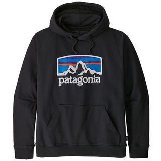 パタゴニア(patagonia)のPatagonia パタゴニア パーカー フードスウェット ブラック(パーカー)