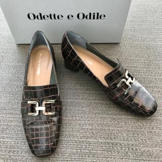 オデットエオディール(Odette e Odile)のOdette e Odile クラシカルビットローファー パンプス(ローファー/革靴)