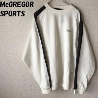 マックレガー(McGREGOR)の【人気】McGREGOR SPORTS スウェット サイズL タグ付き 汚れあり(スウェット)
