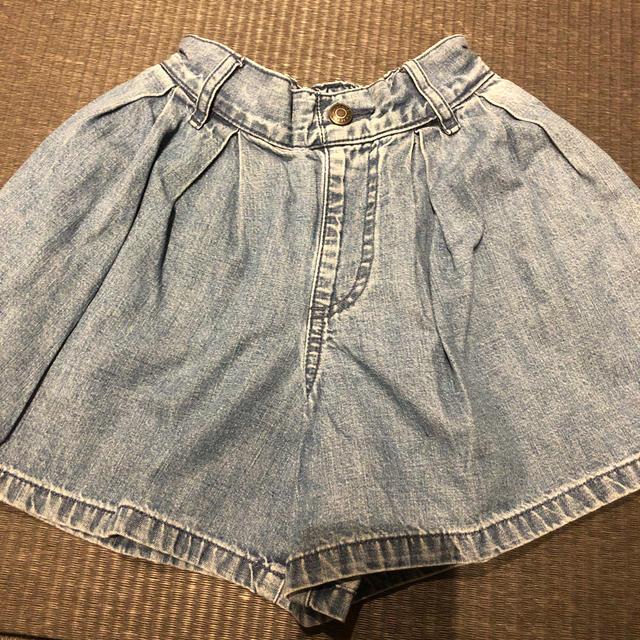 GU(ジーユー)のGU キュロット 女の子 120 スカート  キッズ/ベビー/マタニティのキッズ服 女の子用(90cm~)(スカート)の商品写真
