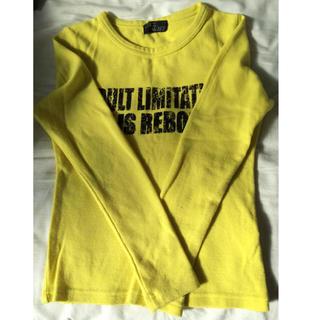 セシルマクビー(CECIL McBEE)のセシル ロンT 黄色 厚手(Tシャツ(長袖/七分))