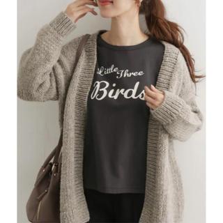ドアーズ(DOORS / URBAN RESEARCH)の◎新品 アーバンリサーチドアーズ BIRDSプリントTシャツ(Tシャツ(長袖/七分))