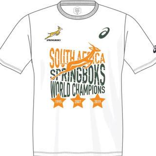 アシックス(asics)の【どうぞ】M 200枚限定 スプリングボクス 優勝 Tシャツ 南アフリカ ラグビ(ラグビー)