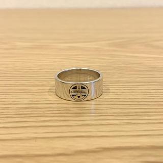 インディアン(Indian)のボビーテワBobby Tewaシルバーリング 約25号 指輪 ホピ族ジュエリー(リング(指輪))