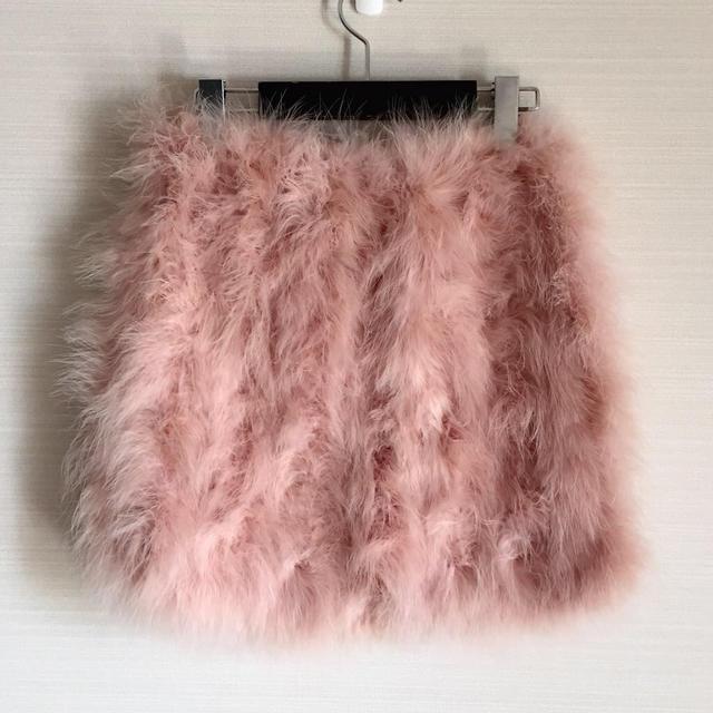 Nina mew(ニーナミュウ)のよゆもし様専用ーフェザースカート レディースのスカート(ミニスカート)の商品写真