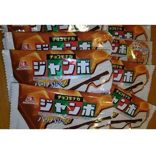 モリナガニュウギョウ(森永乳業)のチョコモナカジャンボ バーコード 8枚(その他)