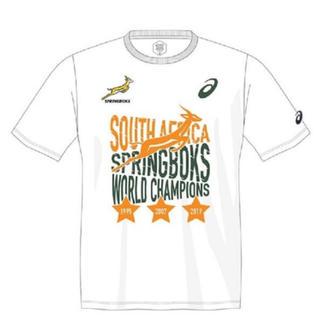アシックス(asics)の200枚限定 ラグビーワールドカップ スプリングボクス優勝記念Tシャツ(ラグビー)