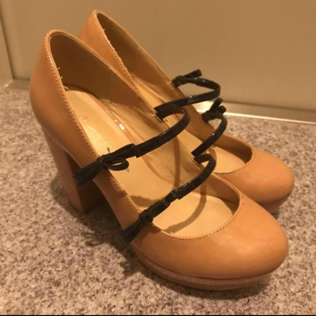 31 Sons de mode(トランテアンソンドゥモード)の31sons♡リボンストラップパンプス レディースの靴/シューズ(ハイヒール/パンプス)の商品写真