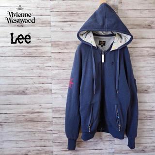 ヴィヴィアンウエストウッド(Vivienne Westwood)のVivienne Westwood Anglomania×Lee コラボパーカー(パーカー)