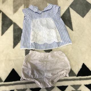 プティマイン(petit main)のプティマイン セットアップ 70(Tシャツ)