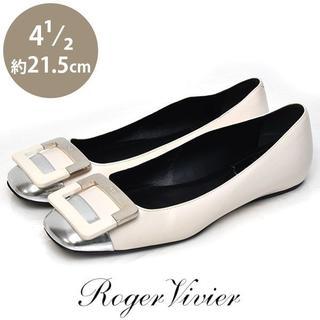 ロジェヴィヴィエ(ROGER VIVIER)のロジェヴィヴィエ バックル インヒール パンプス 4 1/2(約21.5㎝)(ブーツ)