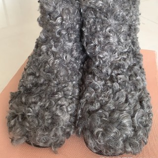 ミュウミュウ(miumiu)のmiumiu  ブーツ  24cm(ブーツ)