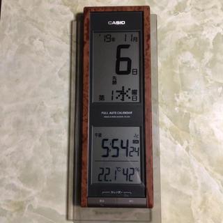 カシオ(CASIO)のCASIO 電波式掛け時計(掛時計/柱時計)