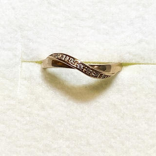 ヨンドシー(4℃)の4℃ k10 リング(リング(指輪))