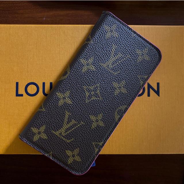 LOUIS VUITTON - ルイヴィトン iPhone X 手帳カバーの通販