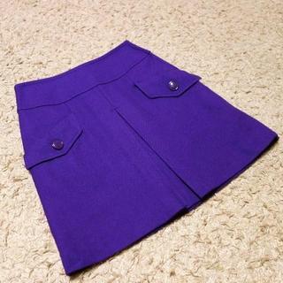 クローラ(CROLLA)のCROLLA/ウールスカート XS(ミニスカート)