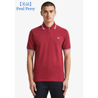 FRED PERRY - 【美品】Fred Perry フレッドペリー ポロシャツ