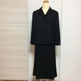 レリアン(leilian)のレリアン  黒  フォーマル  スーツ  大きいサイズ(スーツ)