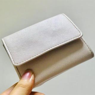 スナイデル(snidel)のシンプル ミニウォレット ピンク ミニ財布 二つ折り財布(折り財布)
