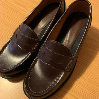 シマムラ(しまむら)のしまむら ローファー ブラウン 23cm(ローファー/革靴)