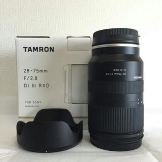 TAMRON - Tamron 28-75mm f2.8 Di Ⅲ RXD (Sony用)