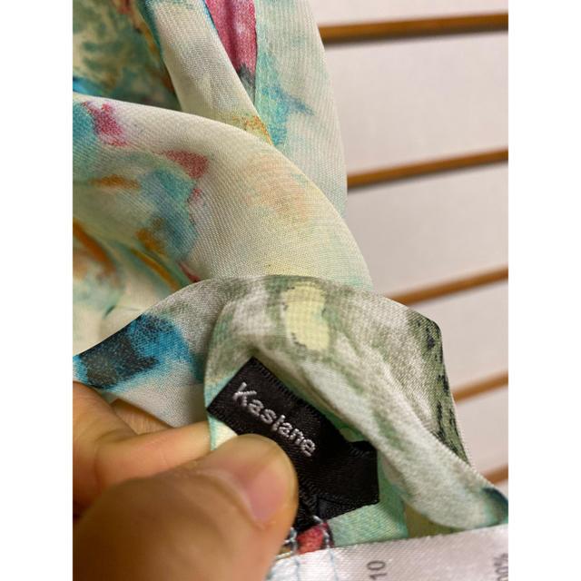Kastane(カスタネ)のカスタネ 花柄ブラウス レディースのトップス(シャツ/ブラウス(半袖/袖なし))の商品写真