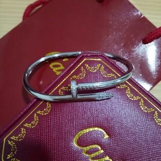 カルティエ(Cartier)のCartier カルティエ ブレスレット 20cm 男女兼用 正規品(ブレスレット)