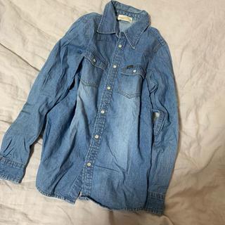ダブルクローゼット(w closet)の【w closet 】デニムシャツ(Tシャツ(長袖/七分))