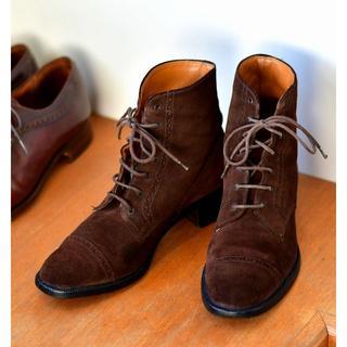 チャーチ(Church's)のchurch's スエードブーツ EUR37 23.5~24cm(ブーツ)