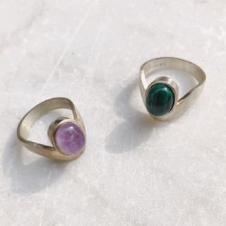 MARTE Stone Ring B 9号 ( トプ画左のみ )(リング(指輪))