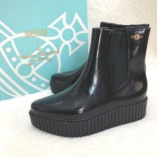 ヴィヴィアンウエストウッド(Vivienne Westwood)の新品☆Vivienne Westwood メリッサ 厚底サイドゴアブーツ BK(ブーツ)