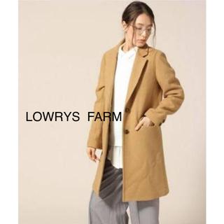 ローリーズファーム(LOWRYS FARM)のLOWRYS  FARM  メルトンチェスターコート(チェスターコート)