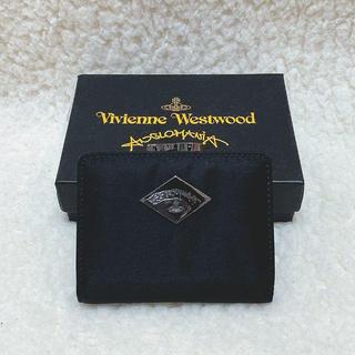 ヴィヴィアンウエストウッド(Vivienne Westwood)の新品☆Vivienne Westwood シンプル ロゴプレート がま口折り財布(財布)