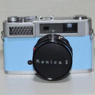 KONICA MINOLTA - 【フィルムカメラ】Konica S【空色ver】