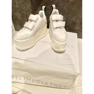 ステラマッカートニー(Stella McCartney)の19SS ステラマッカートニー  エクリプス 美品💜厚底スニーカー (スニーカー)