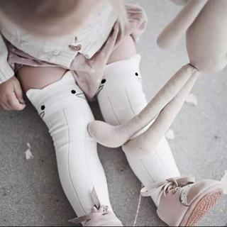 ザラキッズ(ZARA KIDS)のキャット靴下2足セット\♥︎/(靴下/タイツ)