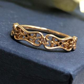 アガット(agete)のagete K14 ダイヤモンド リング(リング(指輪))