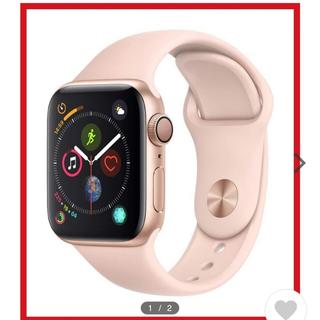 アップルウォッチ(Apple Watch)のApple Watch SERIES4 40MM ピンクサンドスポーツ(腕時計)